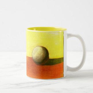 Bright Ball Two-Tone Coffee Mug