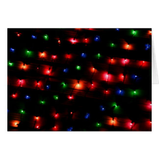 Bright Balls of Holiday Lights Card