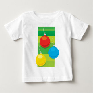 Bright Baubles Baby T-Shirt