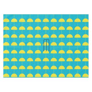 Bright Beach Holidays Sunny Umbrella Pattern Tablecloth