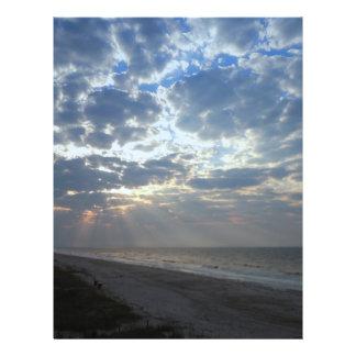 Bright Beach Morning - Oak Island, NC Flyer
