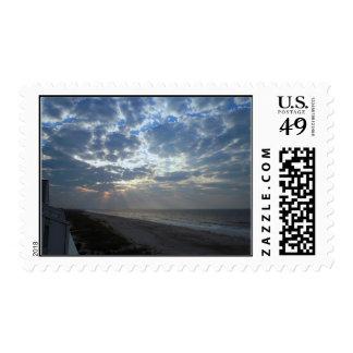 Bright Beach Morning - Oak Island, NC Postage