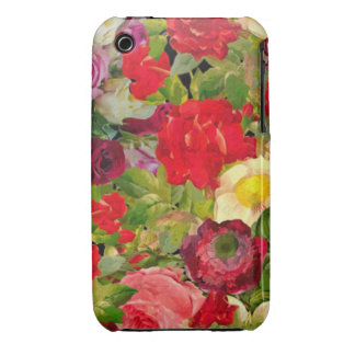 Bright Beautiful Flower Collage iPhone 3 Case