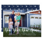 Bright Beginnings   New Year New Home Photo Card