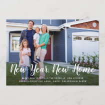 Bright Beginnings | New Year New Home Photo Card