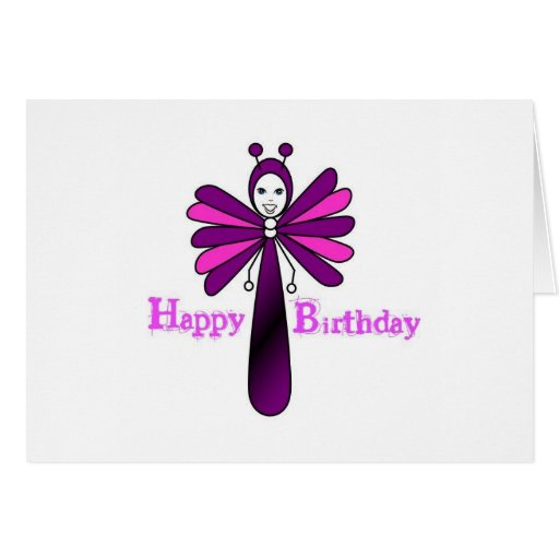 Bright ' Bella' Birthday Card