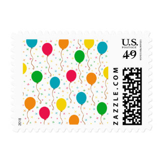 Bright Birthday Balloons Postage
