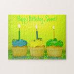 Bright Birthday Cupcakes Puzzles
