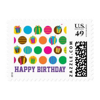 Bright Birthday Postage