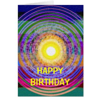BRIGHT BIRTHDAY WISHES CARD