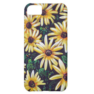 Bright Black Eyed Susans iPhone 5C Covers