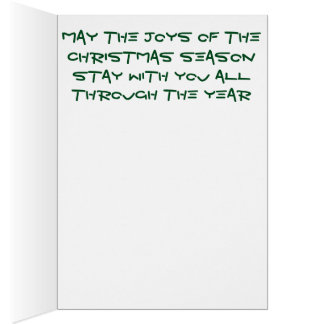 Bright blended pencil Christmas tree Card