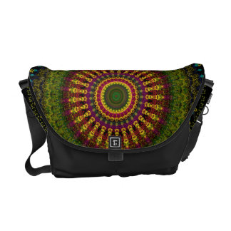 Bright Blessings Mandala Courier Bag