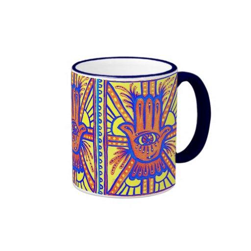 Bright Blessings Ringer Mug