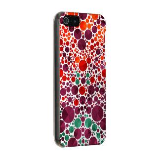 Bright Bling Pattern Metallic iPhone SE/5/5s Case