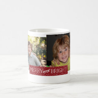 Bright Blizzard | Holiday Photo Mug