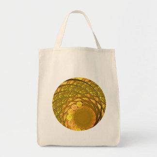 Bright Blossom Moon Tote Bag