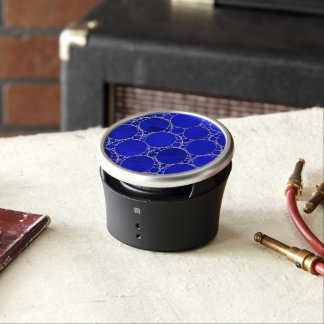 Bright Blue Bling Bluetooth Speaker