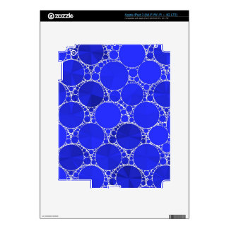 Bright Blue Bling iPad 3 Decals