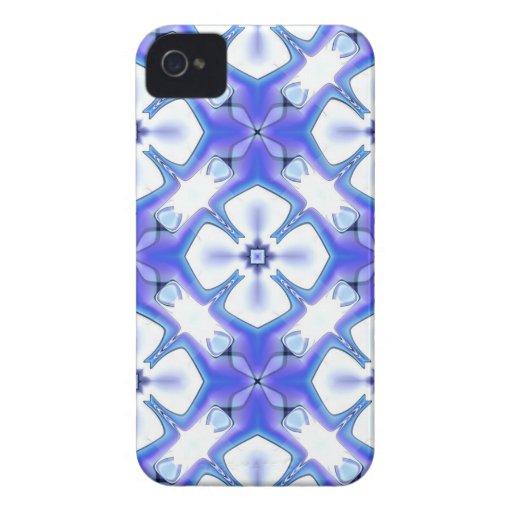Bright Blue Blossoms iPhone 4 Case-Mate Case