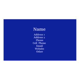 Bright Blue Business Card Templates