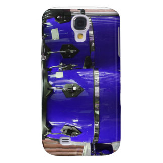 Bright blue conga drums photo samsung s4 case