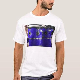 Bright blue conga drums photo T-Shirt