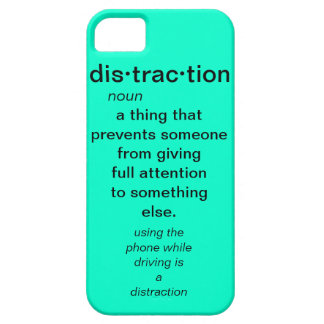 bright blue distraction case iPhone 5 case