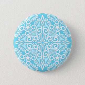 Bright Blue Dream root Pinback Button