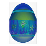 Bright Blue Egg Stationery Paper