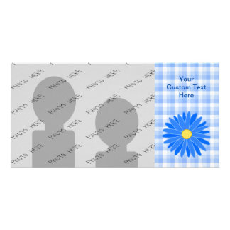 Bright Blue Flower. Photo Cards