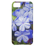Bright blue flowers iPhone 5C cover