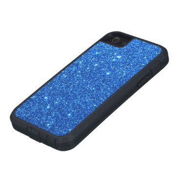 Beach Themed Bright Blue Glitter Sparkles Case For iPhone SE/5/5s