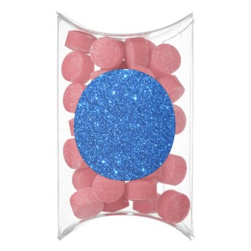 Beach Themed Bright Blue Glitter Sparkles Gum
