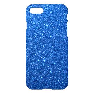 Bright Blue Glitter Sparkles iPhone 7 Case