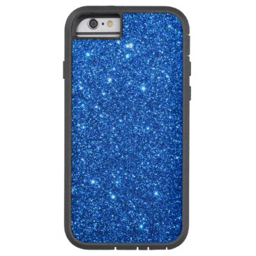 Beach Themed Bright Blue Glitter Sparkles Tough Xtreme iPhone 6 Case