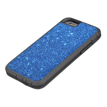 Beach Themed Bright Blue Glitter Sparkles Tough Xtreme iPhone 6 Case