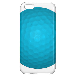 Bright Blue Golf Ball Case For iPhone 5C