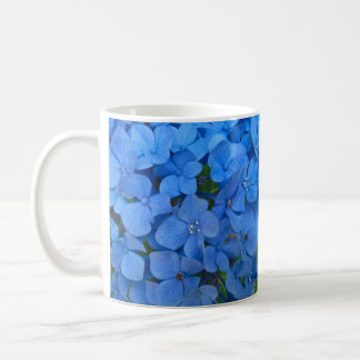 Bright Blue Hydrangea Coffee Mug