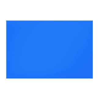 Bright Blue Medium Hanukkah Chanukah Hanukah Canvas Print