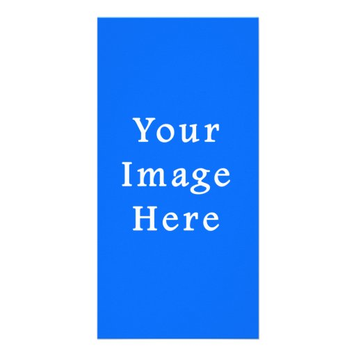 Bright Blue Medium Hanukkah Chanukah Hanukah Photo Cards