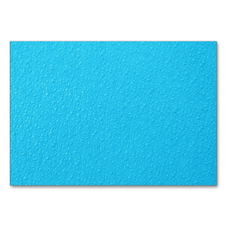 Bright Blue Neon Trendy Colors Card