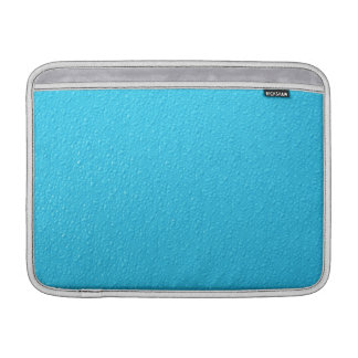 Bright Blue Neon Trendy Colors Sleeves For MacBook Air