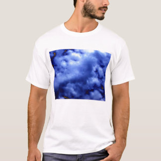Bright Blue Ominous Storm by KLM T-Shirt