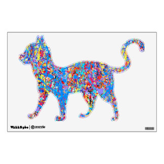 splatter paint wall decals amp wall stickers zazzle splash of paint 8 wall sticker tenstickers