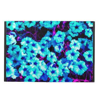 Bright Blue Petunias Cover For iPad Air