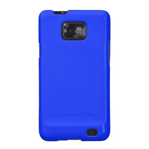 Bright Blue Samsung Galaxy S Case Galaxy SII Case