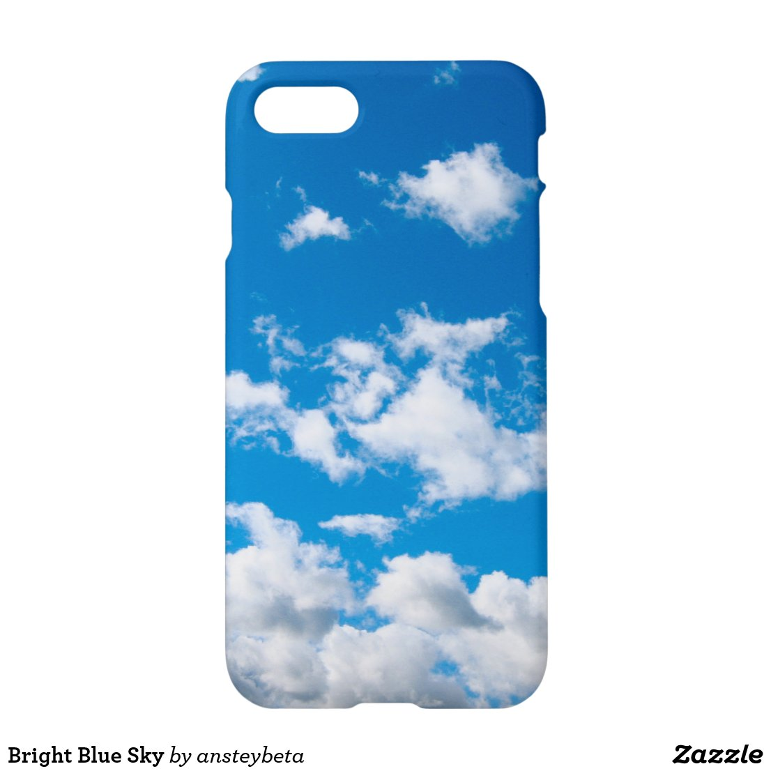 Bright Blue Sky iPhone 7 Case