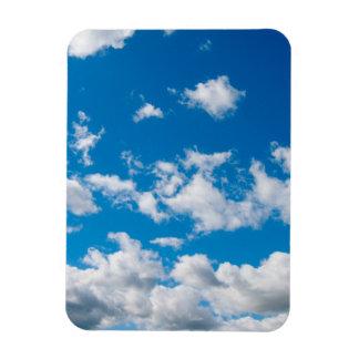 Bright Blue Sky Magnet