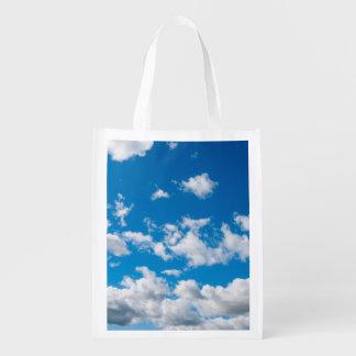Bright Blue Sky Market Tote